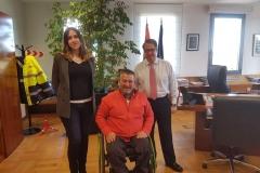 Reunión con Gregorio Serrano, ex-director de la DGT, febrero 2018