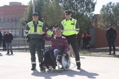 Impartiendo un curso de prevención de accidentes en la ENPC 2016