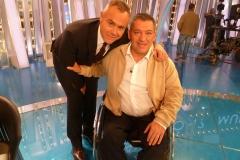 Visita al programa La Noria de Telecinco presentado por Jordi González